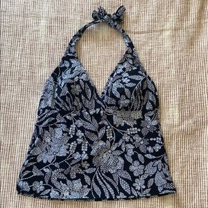 Lands End tankini top size 12